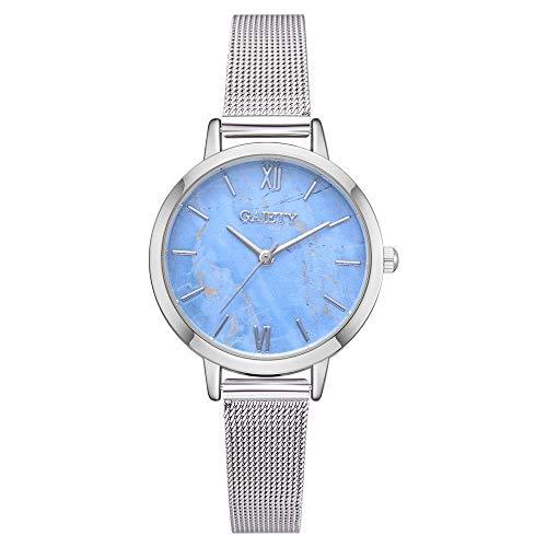 TianWlio Armbanduhren Damen Mode Luxus Art- und Weiselegierungs Band Analoge Quarz Runde Armbanduhr Uhren