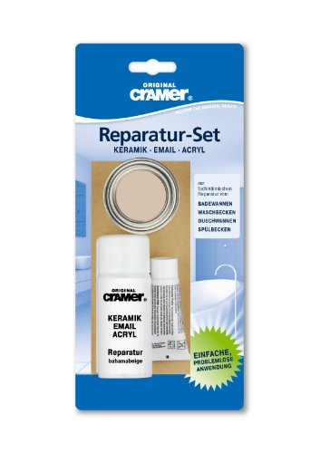 Preisvergleich Produktbild Badewannen-Reparaturset (bahamabeige) für Keramik-, Email- und Acryl-Reparturen