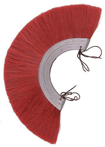 aus Metall Crista, Rot oder Blond LARP Wikinger Mittelalter (Rot) ()