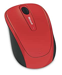 microsoft wireless mobile mouse 3500 rf sans fil bluetrack 1000dpi ambidextre rouge souris. Black Bedroom Furniture Sets. Home Design Ideas