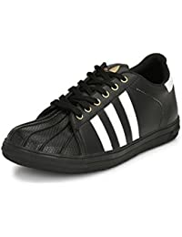 Big Fox Superstar Men's Running Shoes Black, Casual and Stylish.