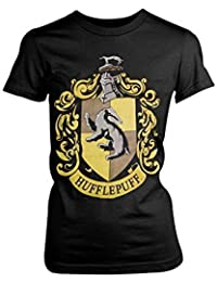 Femmes Harry Potter Licence Officielle Haut Femme Maison Hogwarts Assortis Imprimé Graphique Slim Fit T-shirts