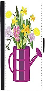 Snoogg Abstract Spring Illustration With Lots Of Flowers Graphic Snap On Hard...