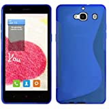 Carcasa Xiaomi Red Rice 2 Funda Gel Silicona Case Cover TPU De Alta Resistencia y Flexibilidad S design - Color Azul - Ordica France®