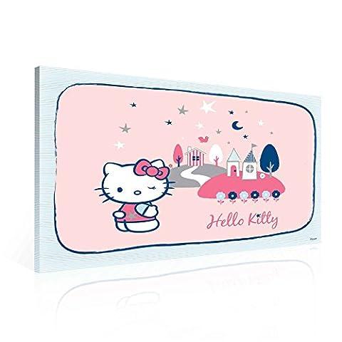 Hello Kitty Leinwand Bilder (PPD11O1FW) - Wallsticker Warehouse - Size O1 - 100cm x 75cm - 230g/m2 Canvas - 1 Piece