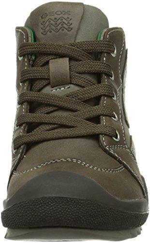 Geox JR ATTACK Jungen Hohe Sneakers Gold (GREY/COFFEEC1103)