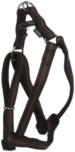 nobby-stitch-punto-de-arnes-del-perro-color-negro-longitud-35-60-cm-ancho-15-mm