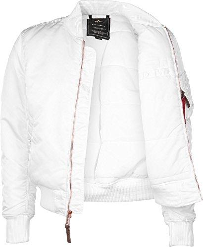 Alpha Industries Jacket MA-1 VF PM Blanc