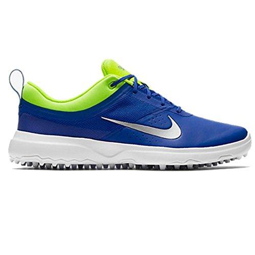 Nike Akamai Scarpe Sportive, Donna Blu (Paramount Blue/metallic Silver/volt)