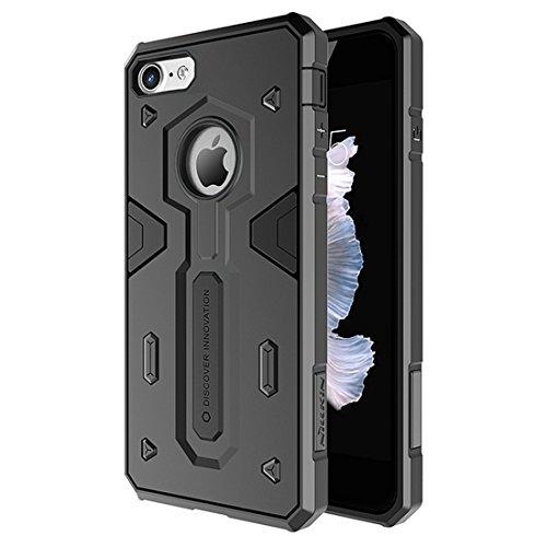 IPhone 7 Fall NILLKIN Tough Defener II Fall Shockproof TPU + PC Kombinationsfall für iPhone 7 by diebelleu ( Color : Black ) Black