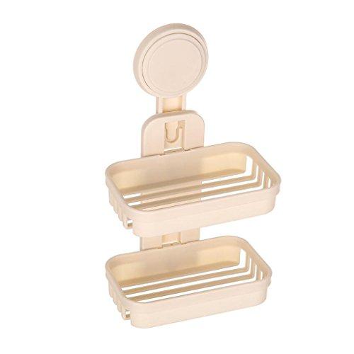 Xuan - Worth Having Plastique à Double paroi Jaune de Savon de boîte de Savon de boîte de Savon de Mode