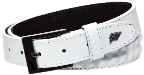 Lowlife of London Ceinture Homme - Blanc - Blanc - XS (Taille Fabricant: X-S)