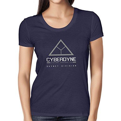 TEXLAB - Cyberdyne Special Edition - Damen T-Shirt, Größe M, (Terminator Kostüm 1)