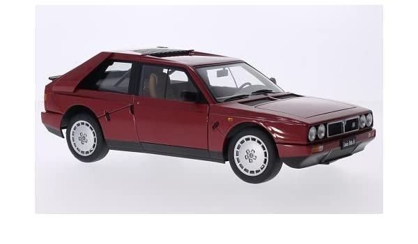 Lancia delta s4 année-modèle 1985 rouge 1:18 AUTOart