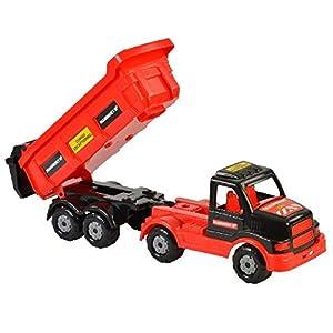 Polesie Mammoet De plástico vehículo de Juguete - Vehículos de Juguete (Negro, Rojo, Camión, De plástico, Interior / Exterior, Niño/niña, 165 mm)