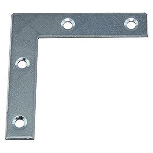 SECOTEC Möbelwinkel / Verbindungswinkel 60x60 mm / Stahl verzinkt