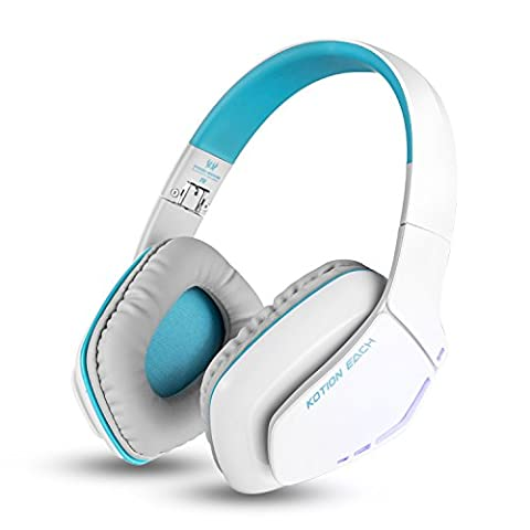 Bluetooth Kopfhörer Over Ear VersionTech Faltbares Gaming Headset Kabelloser V4.1 Kopfhörer mit Mikrofon Mic für iPhone Android PC und andere Bluetooth-Geräte,