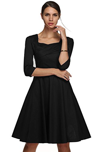 cooshional - Robe - Femme Noir