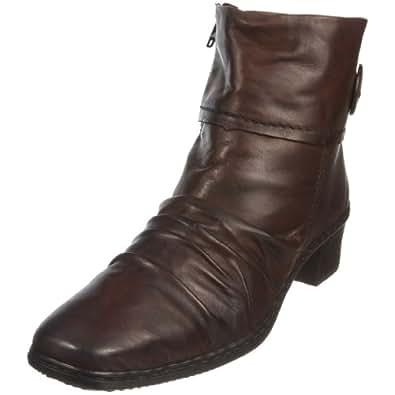 Rieker Women's Kendra 74563 Brown Ankle Boot 74563/26 4 UK D