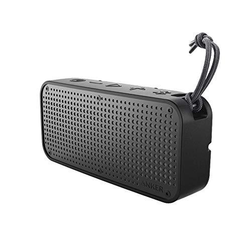 Soundcore Sport XL Enceinte Bluetooth Waterproof/Dustproof- 16W et Port de Charge USB (5200mAh) - Étanchéité IP67, Résistance au chocs, Bluetooth 4.1, 15h d'écoute et microphone Intégré