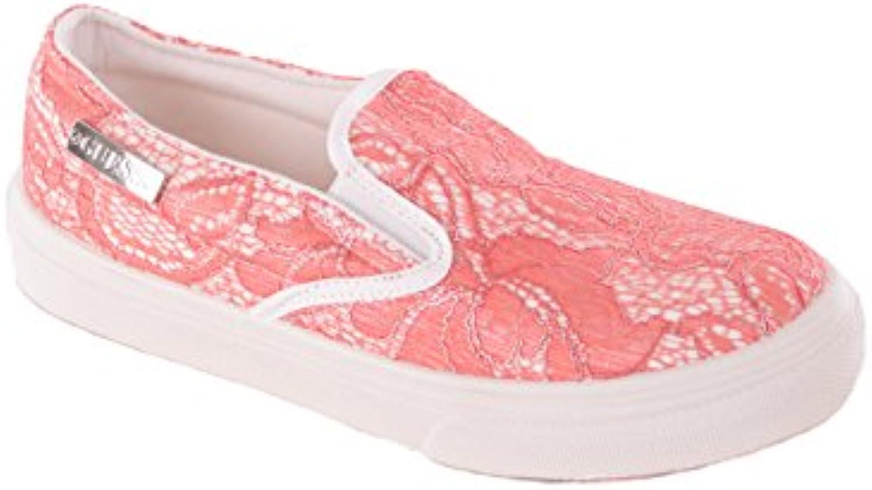 Guess Damen Schlüpfschuhe Slipper Koralle 2018 Letztes Modell  Mode Schuhe Billig Online-Verkauf