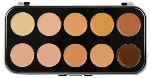 Looks United 10 Color Comouflage Face Concealer Fashion Makeup Palette Concealer High Quality