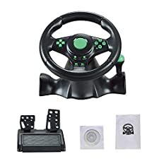 Driving Force Racing Wheel for XBOX-360 / PS3 / P2 / PC Running Game Flying USB Computer Flip for Xbox One.