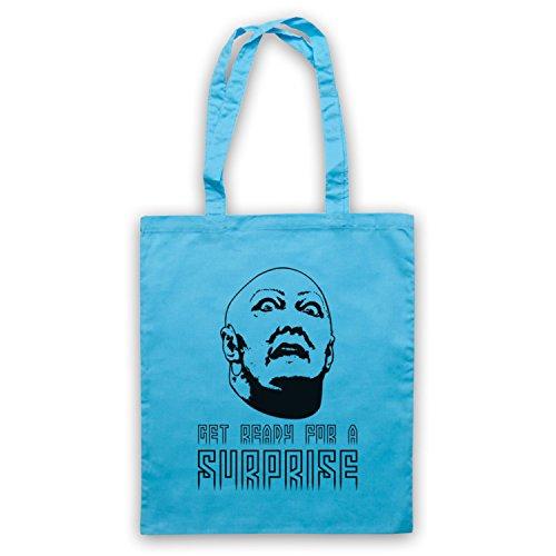 Inspiriert durch Total Recall Get Ready For A Surprise Inoffiziell Umhangetaschen Hellblau