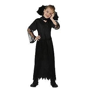Atosa-98890 Disfraz Mujer Araña, color negro, 7 a 9 años (98890)