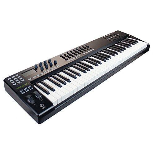 EAGLETONE K 61 TECLADO MAESTRO MIDI / USB DE 61 TECLAS NEGRO