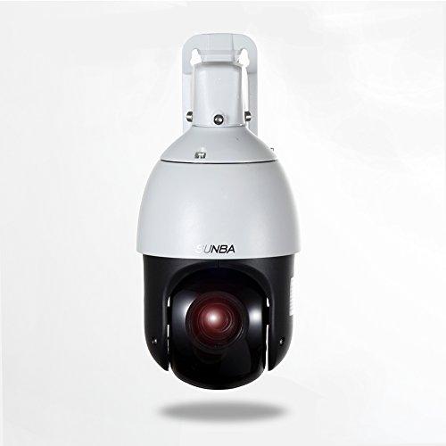 SUNBA Mini Hochgeschwindigkeit IP 1080P PTZ Sicherheit Kamera, Im Freien, 20X Optisches Zoom, Auto-Fokus, 100m Nachtsicht - Poe-ptz Freien Im