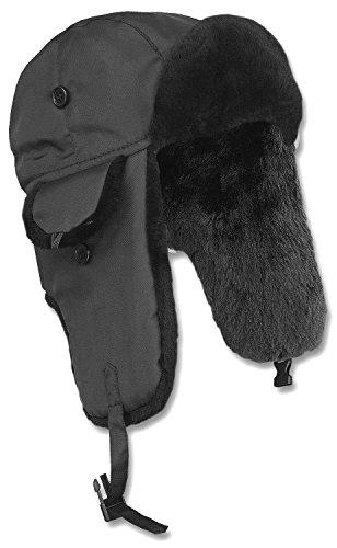 Piloten-Pelzmütze MA1® schwarz Gr.XL (Pelzmütze)