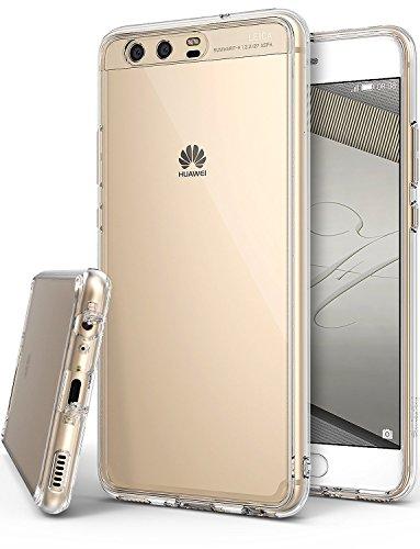 Ringke Cover Huawei P10, [FUSION] Puro Sottile Trasparente PC Assorbimento Urti TPU Custodia Cover per Huawei P10 - Clear