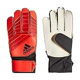 adidas Kinder PRED J Torkeeper-Handschuhe (ohne Fingersave), Active Solar Red/Black, 7