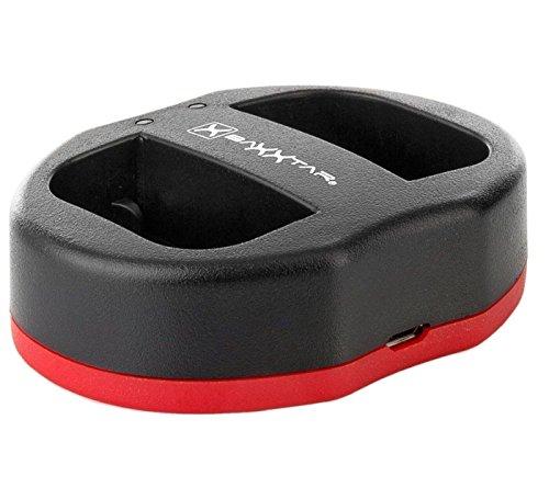 Baxxtar USB Dual Ladegerät Twin Port 1823/2 - kompatibel für Akku Canon LP-E6 LP-E6N