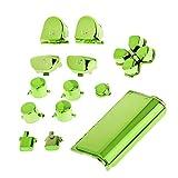 Sharplace 13er Ersatz Tasten Buttons und Touchpad für PS4 Controller Farbe Auswahl - Grün