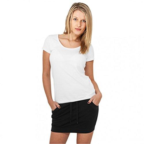 Urban Classics Damen Röcke French Terry rot XS - Baumwolle Terry Skirt