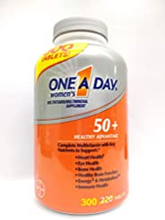 One-A-Day One A Day Women's 50 Plus Multivitamin/Multimineral 300 Tab