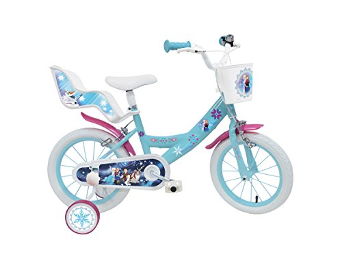 Mondo 25282–Bicicleta la Reine des Neiges–14pulgadas