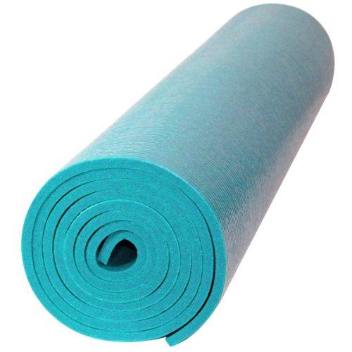 Ultra Premium Yoga Matte (blau) ()