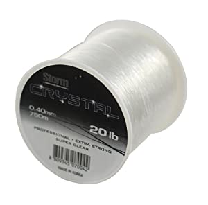 Storm Crystal Extra Strong Fishing Line (25lb 590m) by Storm