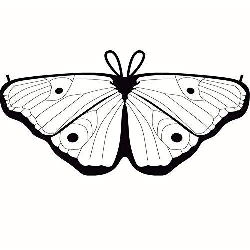Kinder Kind DIY Schmetterling Cape Wings Kreative Angel -
