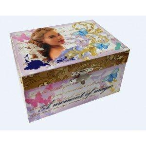 Disney-Cinderella Live Box A Schmuck Musik, wd16453 (Cinderella Schmuck-box)