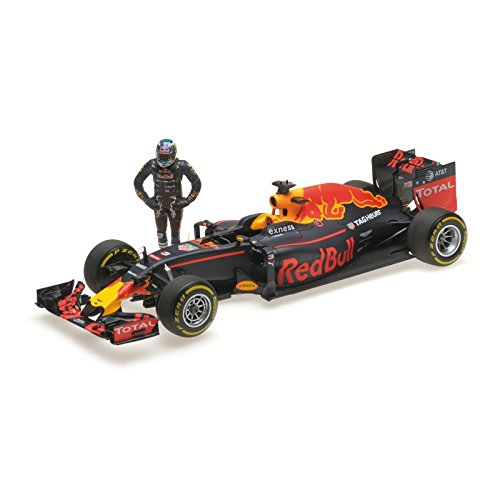 Minichamps 117160603 Red Bull Racing RB12 Daniel Ricciardo - Figura Decorativa (Escala 1:18)