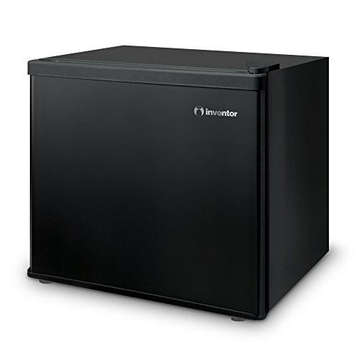 Inventor A++ Compact & Mini Fridge, Black, 42L Internal Capacity, Ideal for Bedrooms, Office and Dormitories, Energy Savings and Eco-Friendly