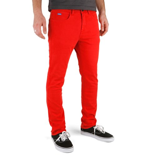Superslick Tight Color Pant Slim Jeans Red, Red, 3 (Color-denim-jeans)