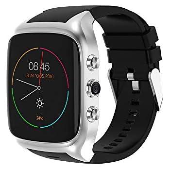HKPLDE 4G Smartwatch / Android6.0 / Pulsera Actividad/Ranura para ...