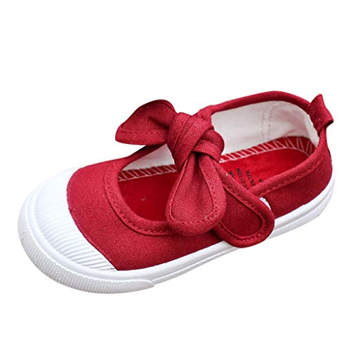 Jugend Rot Leder Kinder Schuhe (Mädchen Sommer Sandale mit weichen Sohlen Baby Leder Lauflernschuhe)