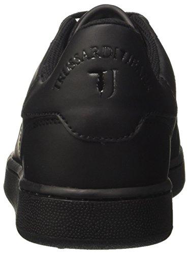 Trussardi Jeans 77a00003-9y099999, Sneakers Homme Noir (Nero)