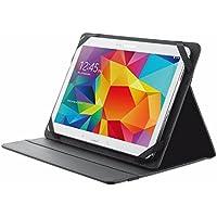 """Trust Primo Folio - Funda para tablet de 10.1"""" (soporte de sobremesa), color negro"""
